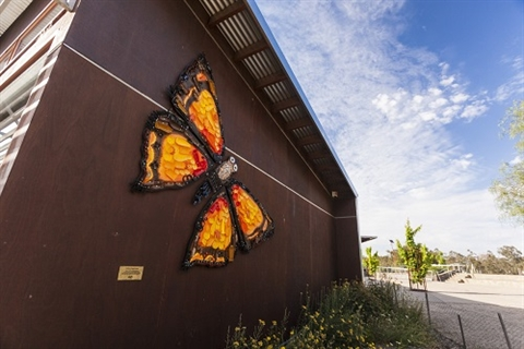 Eltham Copper Butterfly artwork